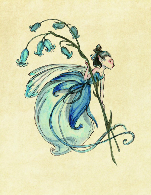 hodgeypodgey:  Midsummer Fairies Lantern | Illustration by Casey Robin  I can't help it, I love fairies, especially when illustrated beautifully like this. I want them all in my future garden.