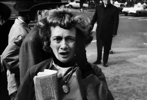 historicaltimes:   A woman in New York reacts to the news of John F. Kennedy's assassination, Nov. 22, 1963 - Read More