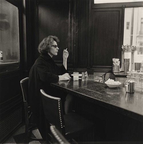 Diane Arbus - Woman at a Counter Smoking, N.Y.C., 1962 [***]