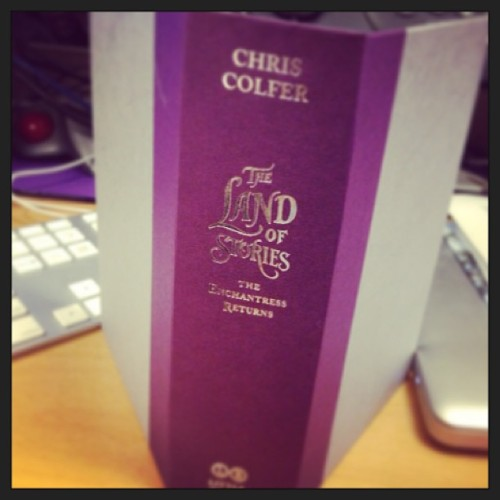 hrhchriscolfer: Just was sent the #TLOS2 case cover… It'll leave a dent in the floor fo' sho'!