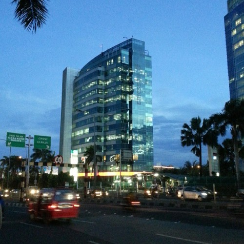 Ericsson Indonesia Building this maghrib.. Wisma Pondok Indah 1  (at ericsson indonesia)