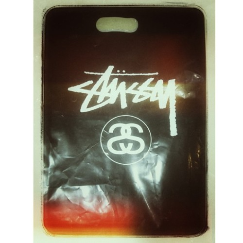 Collected my tee just it's as fresh as ever! (at Stussy Singapore)
