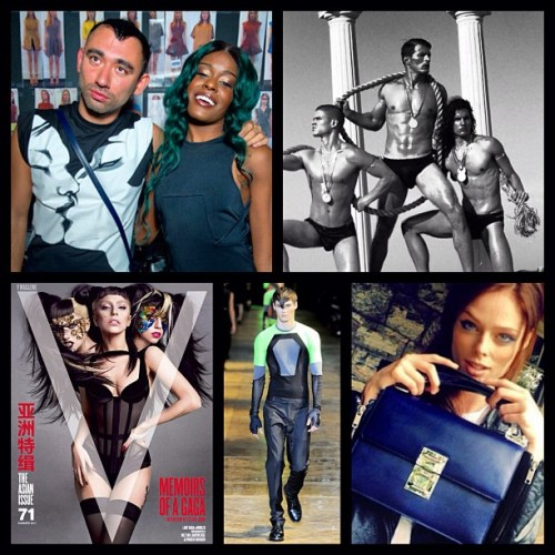 nicolaformichetti:  Mugler Moments 1 @azealiabanks @cocorocha @muglerofficial @vmagazine (at planet mugler)