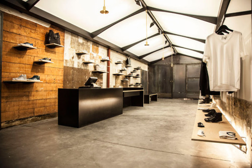 design-plus:  adidas No. 42 store by ether a.c., Paris