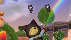 黒猫フードワンピ