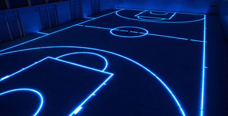 letsbuildahome-fr:  The Tron Basketball Court by ASB via Core77