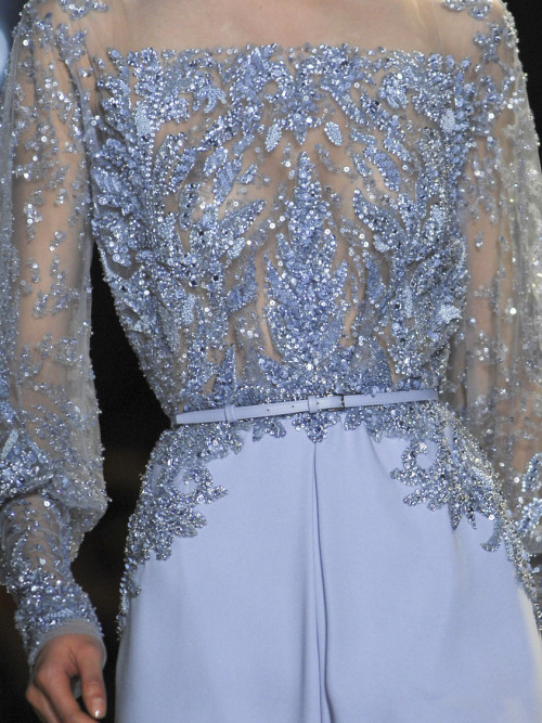 she-loves-fashion:  SHE LOVES FASHION: Elie Saab Haute Couture Spring 2013