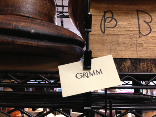 Those cute boys from Grimm have been in my sister's shop.