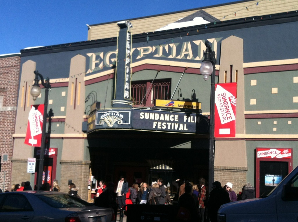 What a beautiful day here at the Sundance Film Fest! The perfect day to be out meeting with great indie filmmakers!