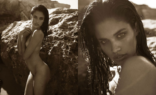 Sara Sampaio by Mariano Vivanco