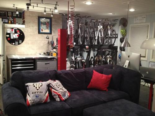 fuzzyimages:  Proper bike storage.