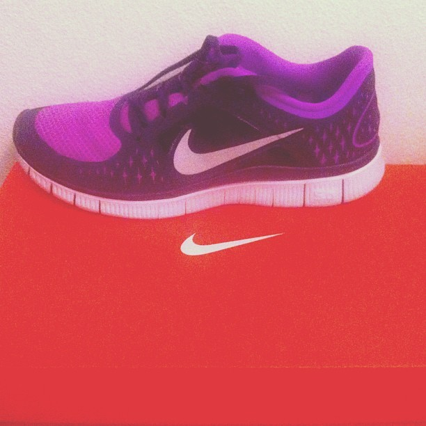 #nike #trainer #trainers #newnikes #gunatryrunning #purple #orange