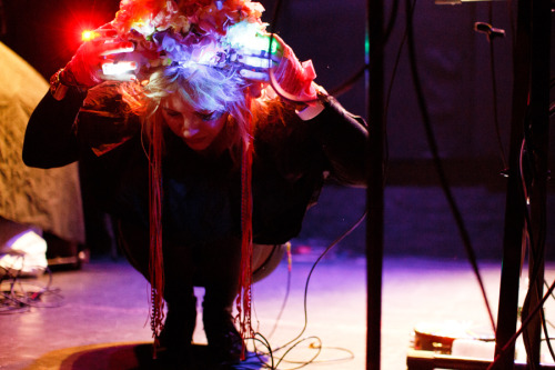 robotsvsghosts:  Niki & The Dove at Bowery Ballroom, January 12, 2013 - more on BrooklynVegan. © 2013 Amanda M Hatfield