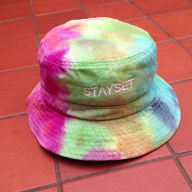 always stayset:  STAYSET TIE DYE BUCKET HATS !!  VERY LIMITED NUMBERS !!  www.setstore.co.uk