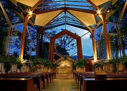 I will get married here.