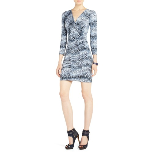 BCBGMaxazria Ray Twist-Front Dress
