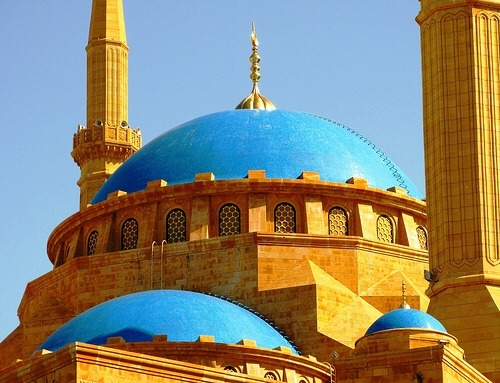 lebaenese:Blue mosque in Lebanon