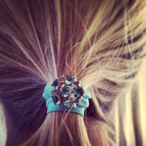 www.etsy.com/shop/noelldesiree #hairties #handmade #etsy #ponytail