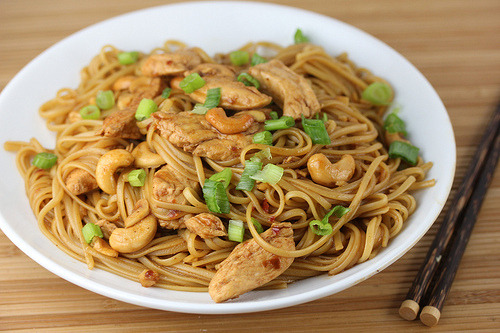 foodopia:  cashew chicken noodles: recipe here