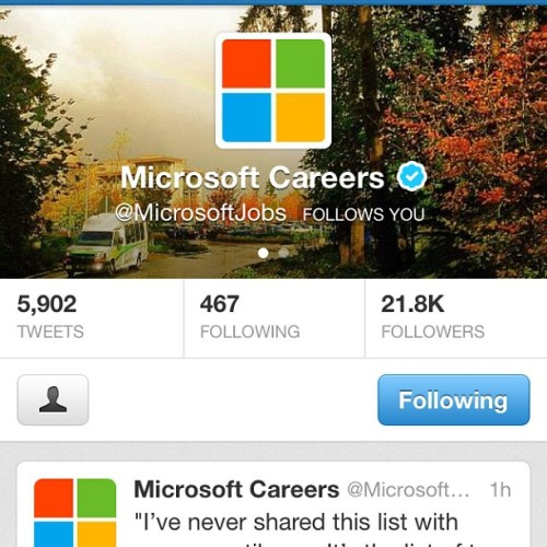 Working on a partnership with Microsoft careers. What are you doing with your day? #igers #jobs #careers #instagood #billgates #tbt #deepimmersion #xbox #secret #projects