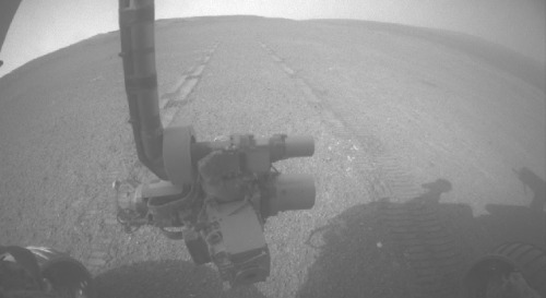 Mars Rover Breaks 40-Year-Old RecordWhile Apollo 17 astronauts Eugene Cernan and Harrison Schmitt visited Earth's moon for three days in December 1972, they drove their mission's Lunar Roving Vehicle 19.3 nautical miles (22.210 statute miles or 35.744 kilometers). That was the farthest total distance for any NASA vehicle driving on a world other than Earth until yesterday.The team operating NASA's Mars Exploration Rover Opportunity received confirmation in a transmission from Mars that the rover drove 263 feet (80 meters) on Thursday, bringing Opportunity's total odometry since landing on Mars in January 2004 to 22.220 statute miles (35.760 kilometers).Read more: http://www.laboratoryequipment.com/news/2013/05/mars-rover-breaks-40-year-old-record