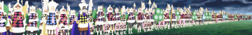 Big Mom'spawn soldiers #one piece#opgraphics #whole cake island arc  #big mom army #pawns #pawns. a lot of pawns #op anime #one piece anime #edit#screen edit#my edit #gocce di veleno nel bicchiere