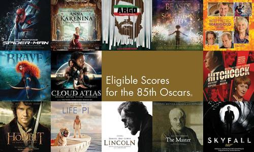 Here are 13 of the 104 eligible Original Scores up for nomination at the 85th Academy Awards. Read the full list. What was your favorite score this year?