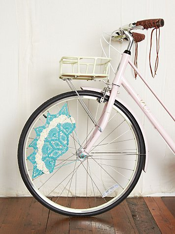 Crochet skirt bike guards…