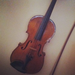 My great grandpas violin.