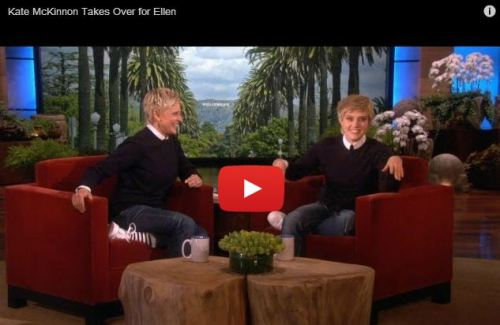 Kate McKinnon Dresses Like Ellen On Ellen And My Life Is Complete