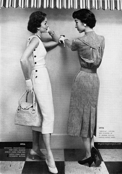 Butterick Pattern Book / Summer 1954 Photo by Ben Somoroff