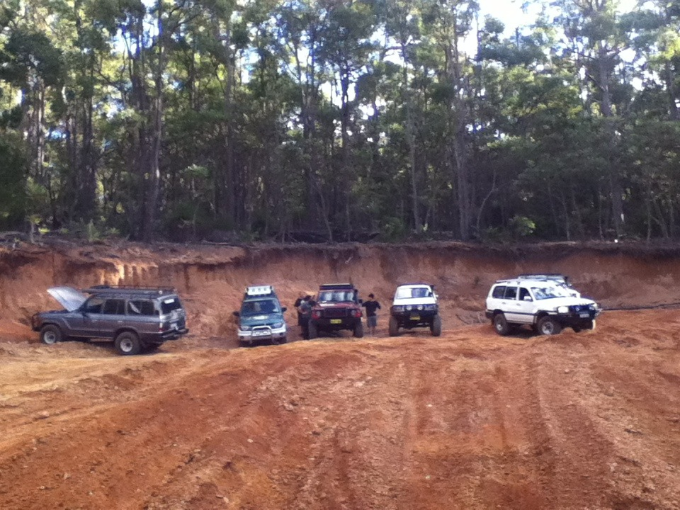 Good trip out to Lane Poole Reserve, Dwellingup today with the Mudchuckers 4x4 group.Had a small victory of my stock standard Pajero IO over some heavily modified turbo diesel vehicles.