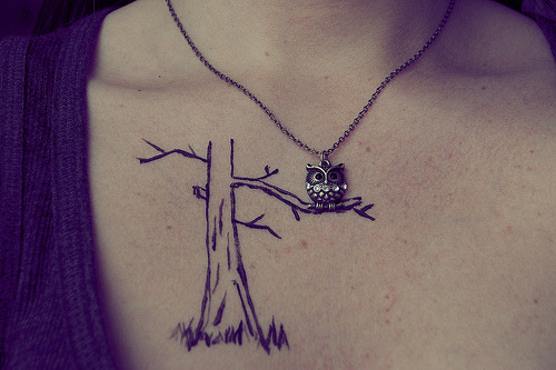 booktobefree:  owl tattoo on We Heart It. http://weheartit.com/entry/60049989/via/KingsizeDirectioner