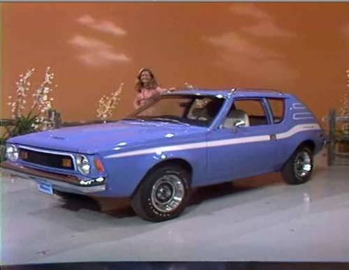 A brand new car! This 1973 AMC Gremlin X can be yours if the Price Is Right!