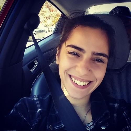 #girl #me #selfie #car