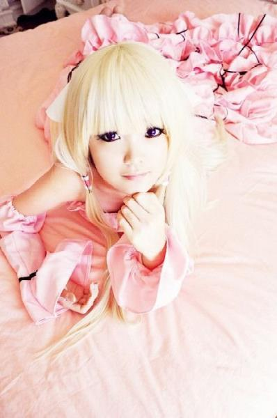 Chobits Chii Lolita Cosplay by ~carrieleo
