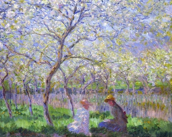 Claude Monet - Le Printemps (1886)