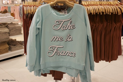 Take Me To France Sweater
