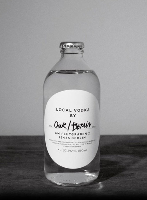 (via Our/Vodka - The Dieline -) Our/Vodka