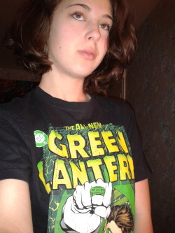 Fun Fact: My favourite Green Lantern shirt comes from the Boy's Section at Wal-Mart
