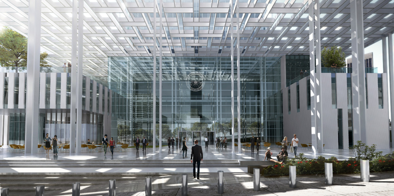 #ARCHITECTURE #RENDERINGS Los Angeles, USA | Los Angeles Courthouse | NBBJ Mastering Autodesk Viz Render 2006: A Resource For Autodesk Architecural Desktop Users 9 new from $47.96 16 used from $8.72 SOURCE | 12.05.2013 | 14.26 High resolution renderings (showcase) http://www.skyscrapercity.com/showthread.php?t=1141539