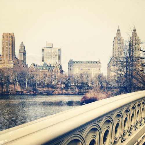 lostsplendor:  South of Dakota: Upper West Side of Manhattan through Central Park, March 2013.