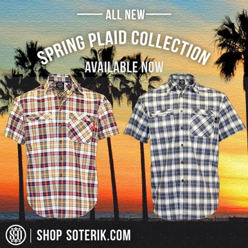 All new Plaids available Now #ss13 #fresh #fashion #fashiondesign #entertainment #readyforsummer #yes #urbanwear #instagood #peaceandlove #allgood #apparel #aacoachella #shop #style #streetwear #summerstyle #dope #dtla #downtown #downtownlosangeles #good #heartofthecity #justdoit #love #lalive #lalifestyle #zoom #cali #calilove #coachella #california #hiphop #believe #blacklist #verb #nofilter #noonefresher #menswear #mensstyle #mensfashion  (at http://soterik.com/Shirts_c10.htm)