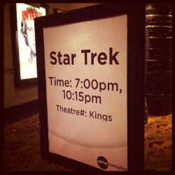 I am excited. #startrek (at AMC Loews Lincoln Square 13)