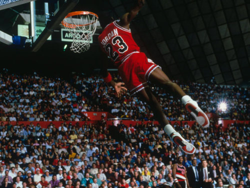 """Heart is what separates the good from the great."" -Michael Jordan"