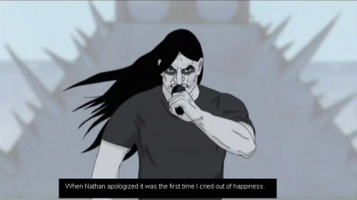 When Nathan apologized it was the first time I cried out of happiness.