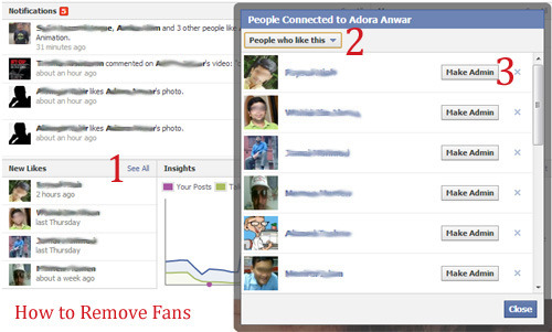 How to Remove Facebook Page Like or Fans