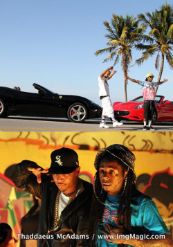 Lil Wayne and T.I. shooting a music video for their mystery single - http://www.lilwaynehq.com/2013/04/ti-says-he-has-a-single-dropping-in-may-featuring-lil-wayne-video/ Photo credit: Thaddaeus McAdams
