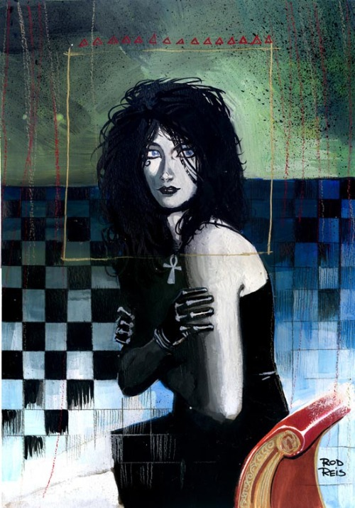 Death & Sandman by Rod Reis