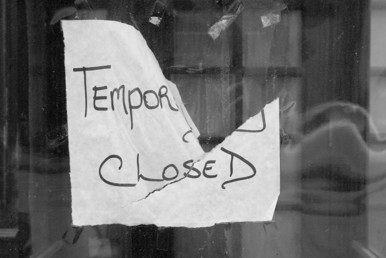 terrysdiary:  Temporarily Closed